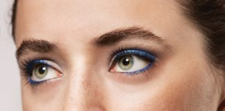 Blue eyeshadow tutorial