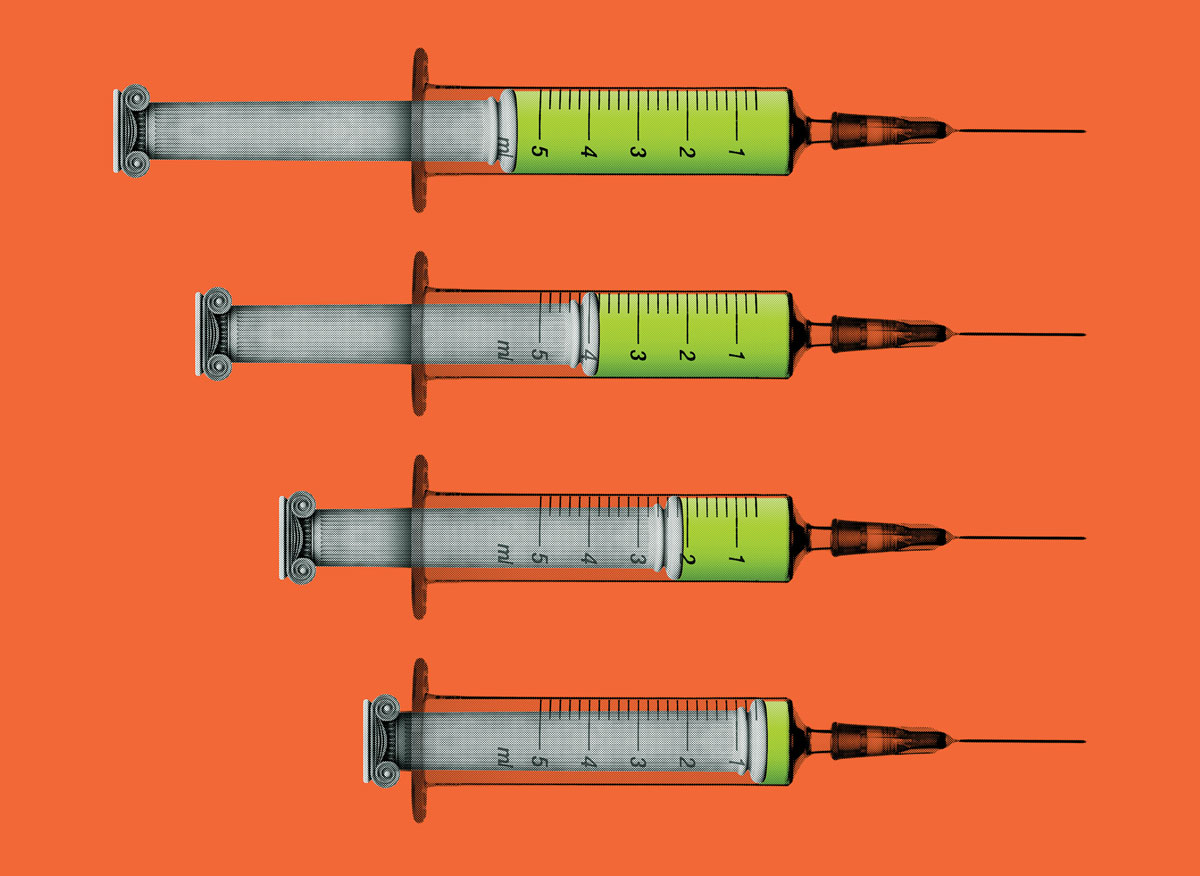 Capital punishment syringes
