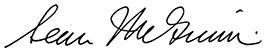 Sean McGinnis signature