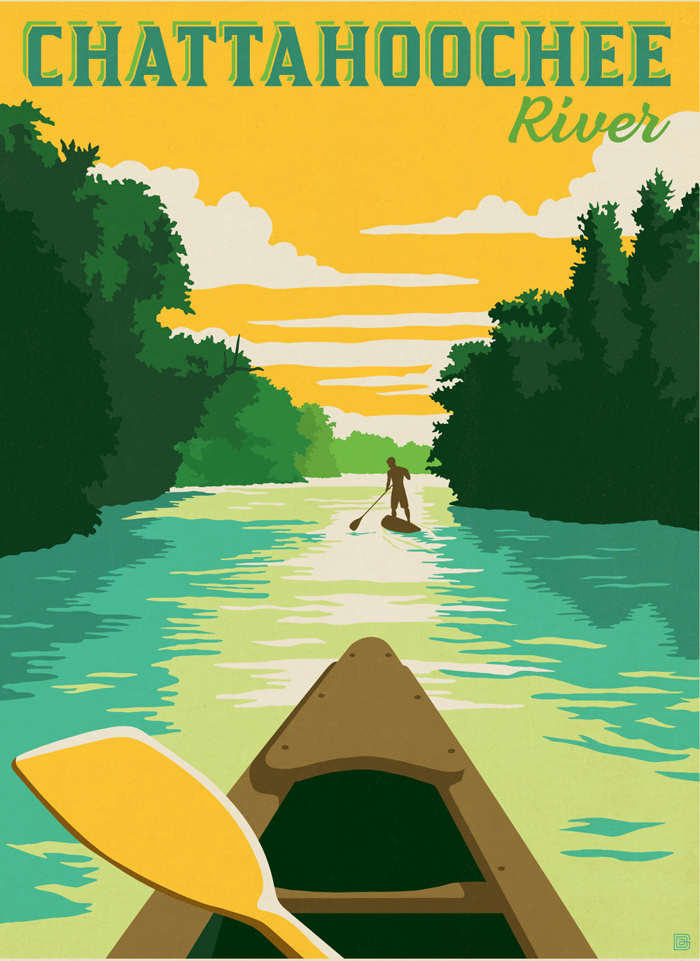 Chattahoochee River cover illustration